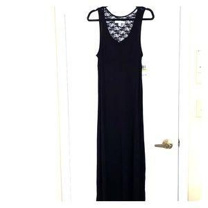 Ellen Tracey Black Maxi Dress